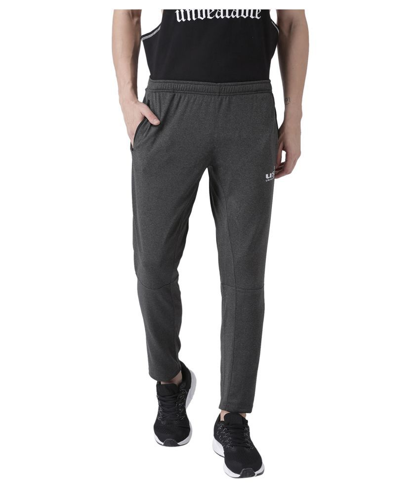 USI Universal Grey Training Track Bottoms