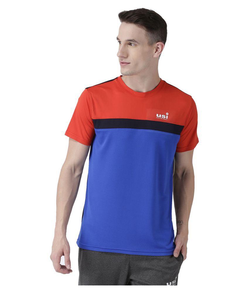 USI Universal Royal, Navy And Red Training T-Shirt