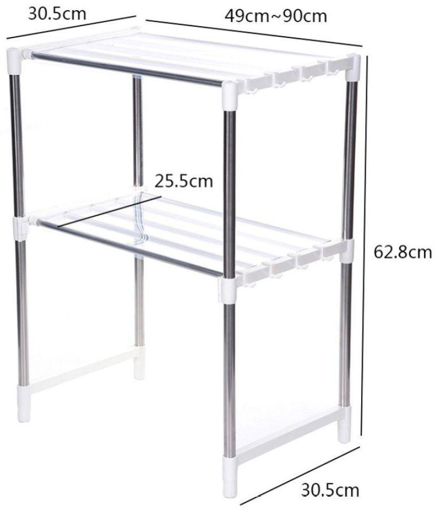 adjustable telescopic stainless steel multipurpose framework kitchen rh snapdeal com