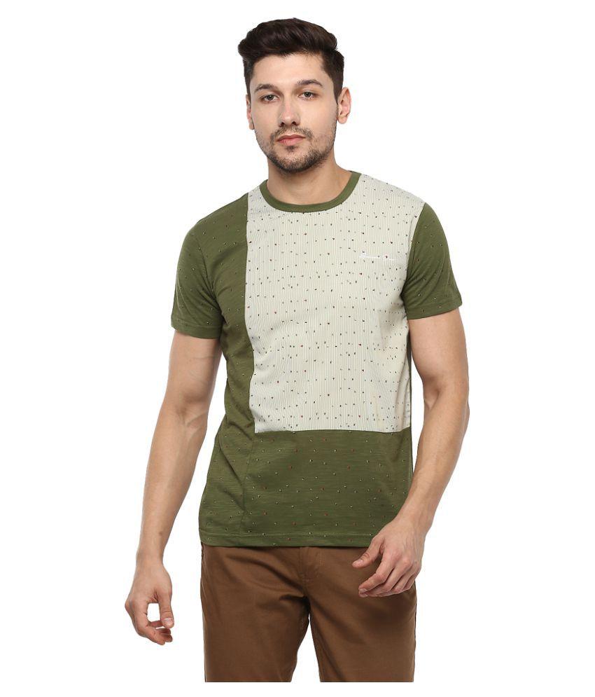 AXMANN Green Round T-Shirt