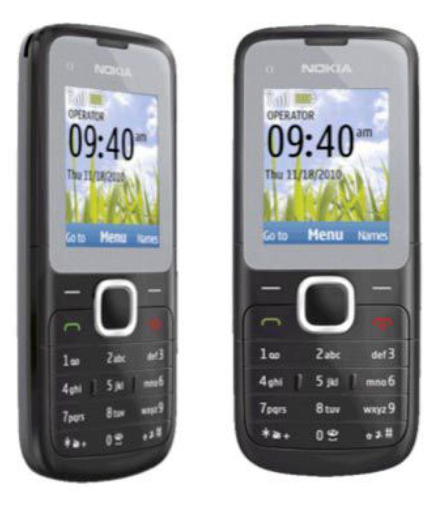 rufi nokia c1 01 refurbished unused re boxed mobile black grey rh snapdeal com Nokia C2-01 Nokia 7610 Supernova