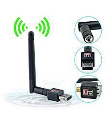 Teconica 600Mbps USB WiFi Dongle Wireless Adapter 600 4G Black