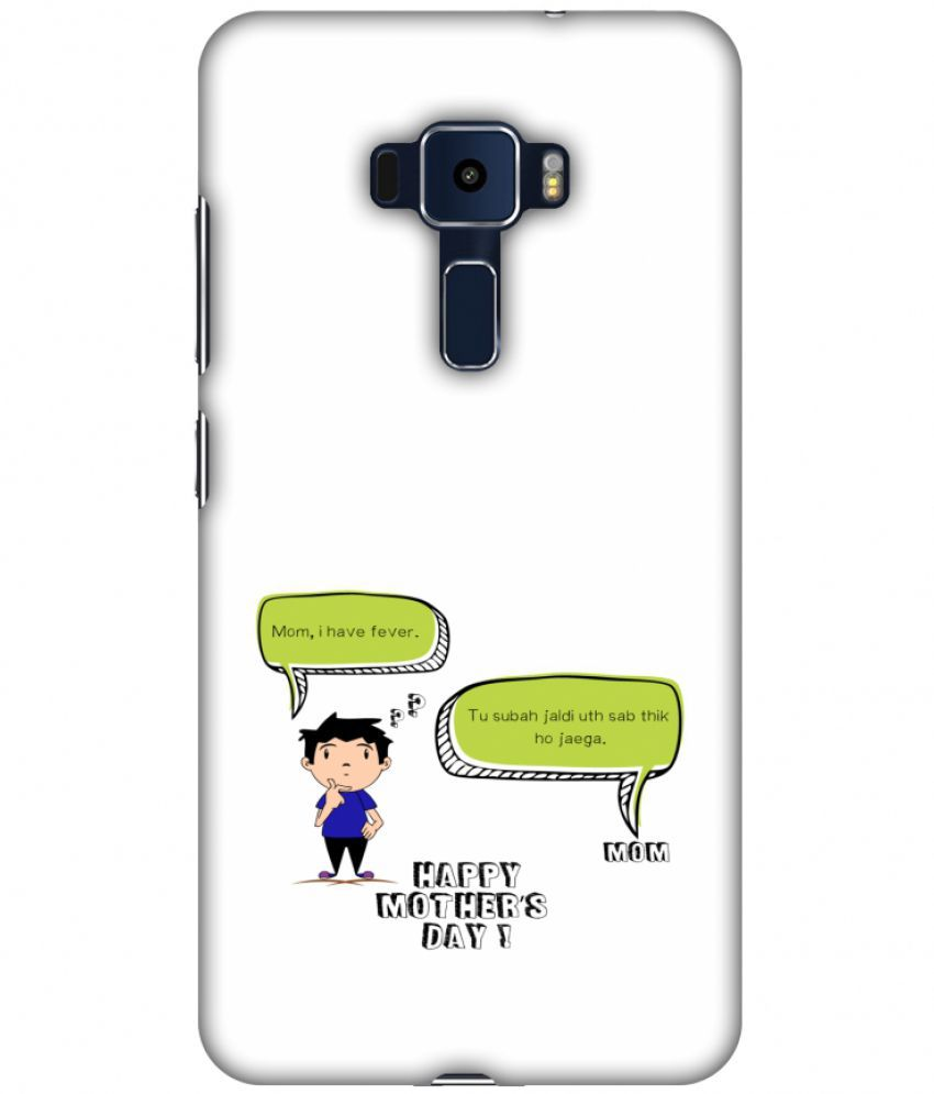 Asus Zenfone 3 ZE552KL Printed Cover By AMZER