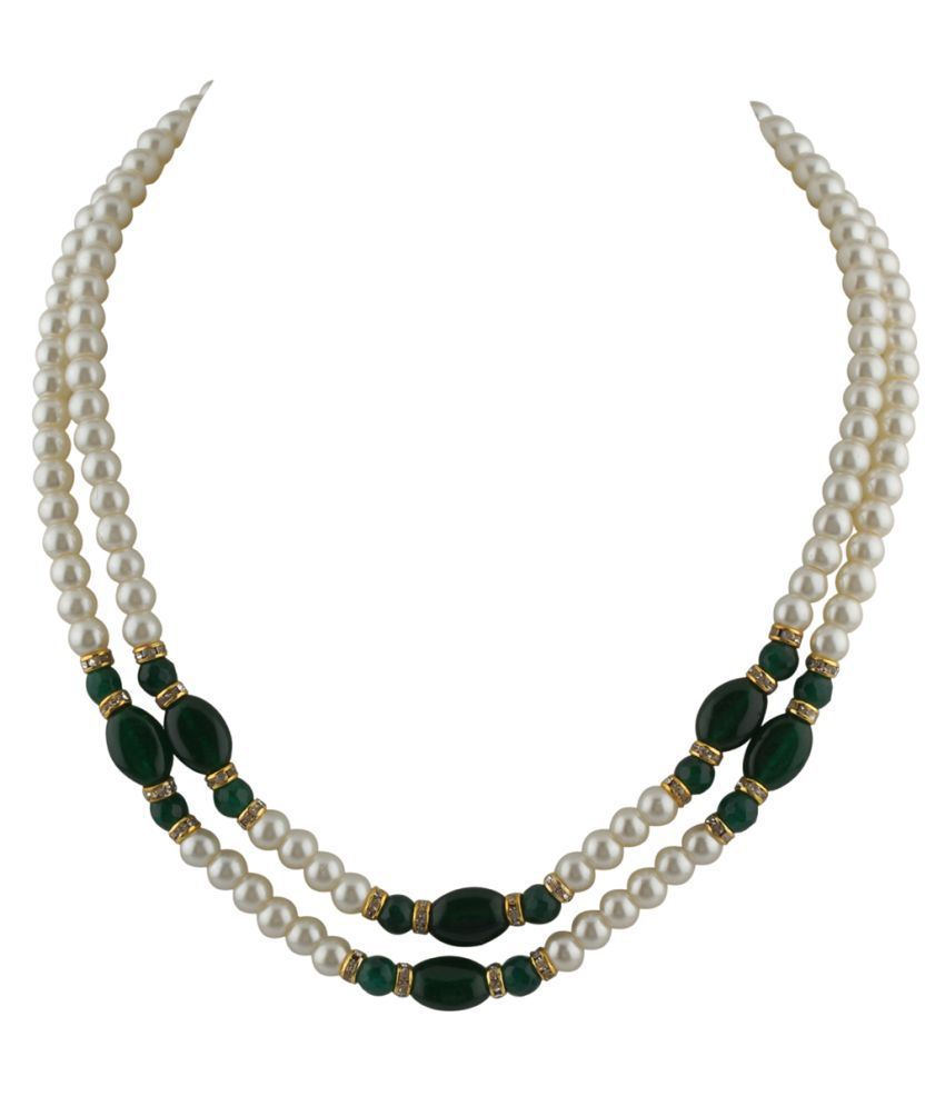 38cbeb7801 nClassiqueDesigner Jewellery Beautiful Pearl Necklace - Buy ...