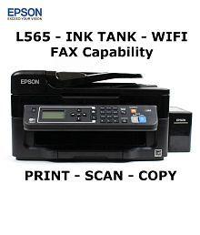 Epson L565 Multifunction (Print,Scan,Copy,Wifi) Wireless Ink Tank Printer