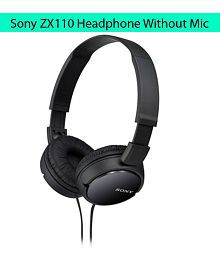 3f5eeede1dc Quick View. Sony MDR-ZX110 On Ear Wired Headphones Without Mic Black