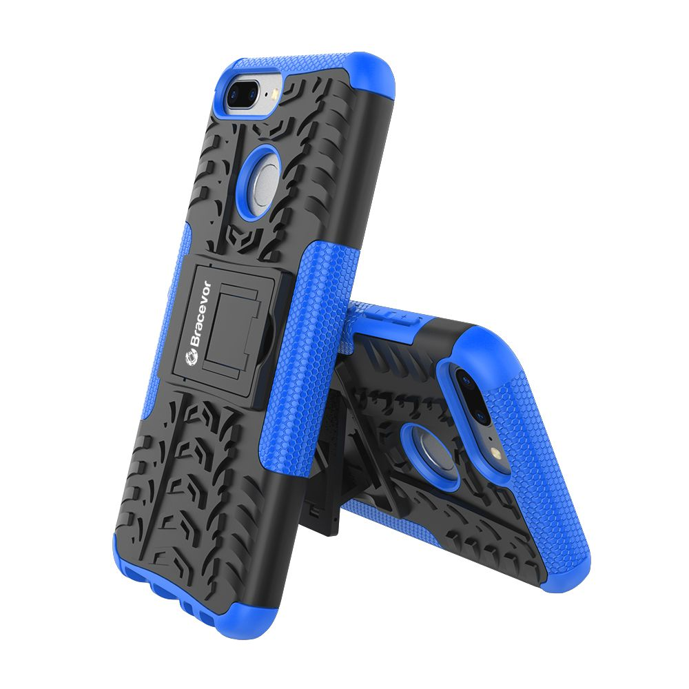 Honor 9 Lite Cases with Stands Bracevor - Blue