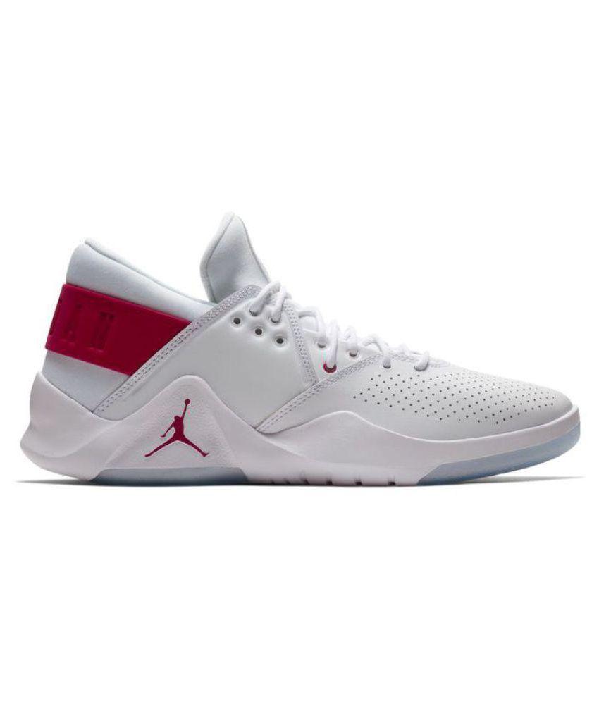 wholesale dealer 61855 cb0bb Jordan Flight Fresh White Basketball Shoes