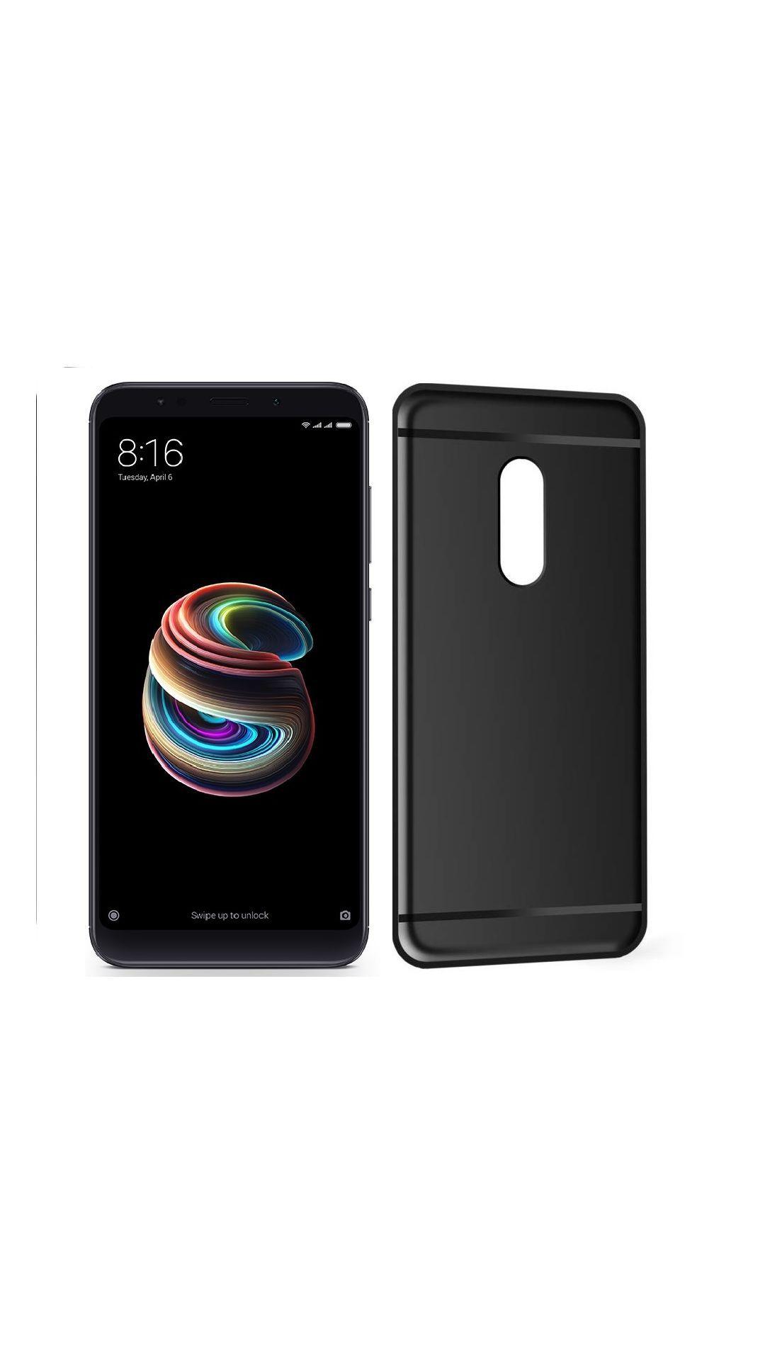 Xiaomi Redmi Note 5 Anti Gravity Cover Furious3D Black Premium look case