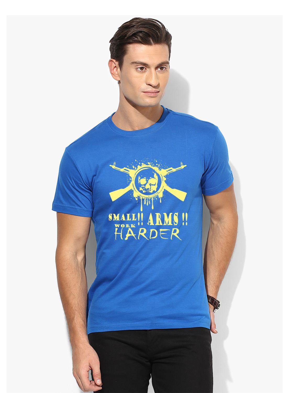 Grand Bear Blue Round T-Shirt Pack of 1
