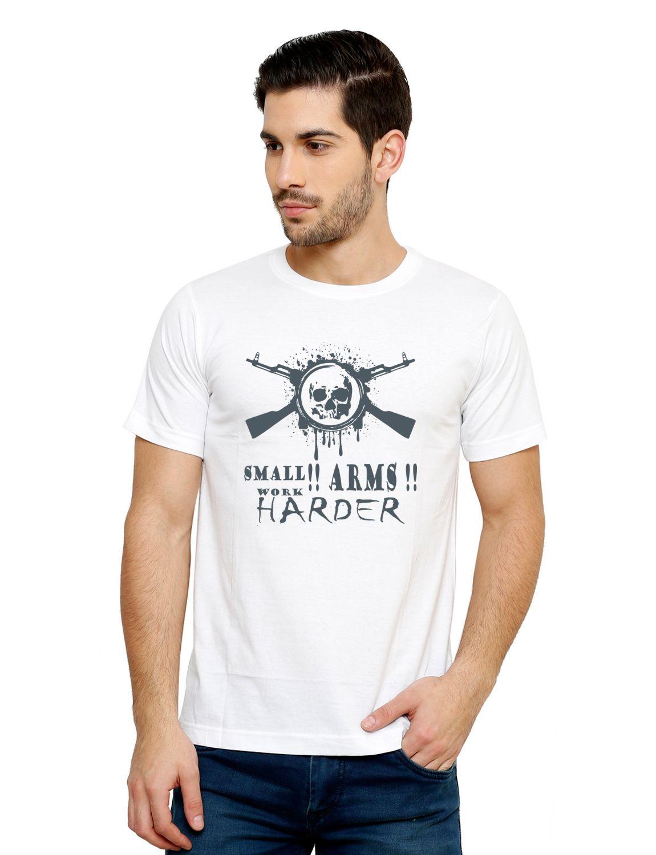 Grand Bear White Round T-Shirt Pack of 1