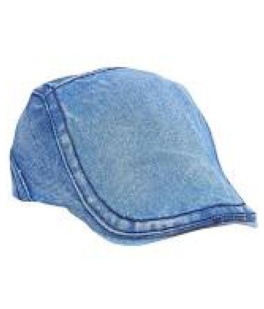YUNEEK Blue Cotton Caps