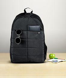 HP Black Premium Polyester Laptop Bags- 15.6 Inch