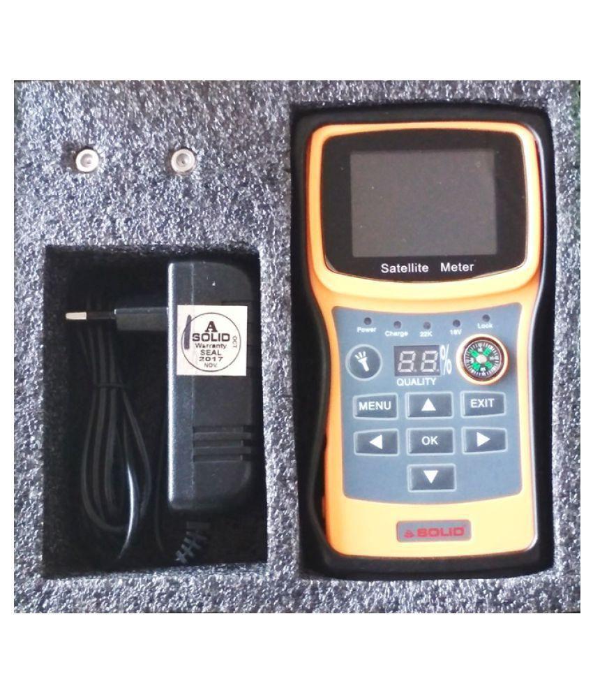 Solid S2 SF-720 Digital Satellite dB Meter Full HD 1080p Multimedia Player