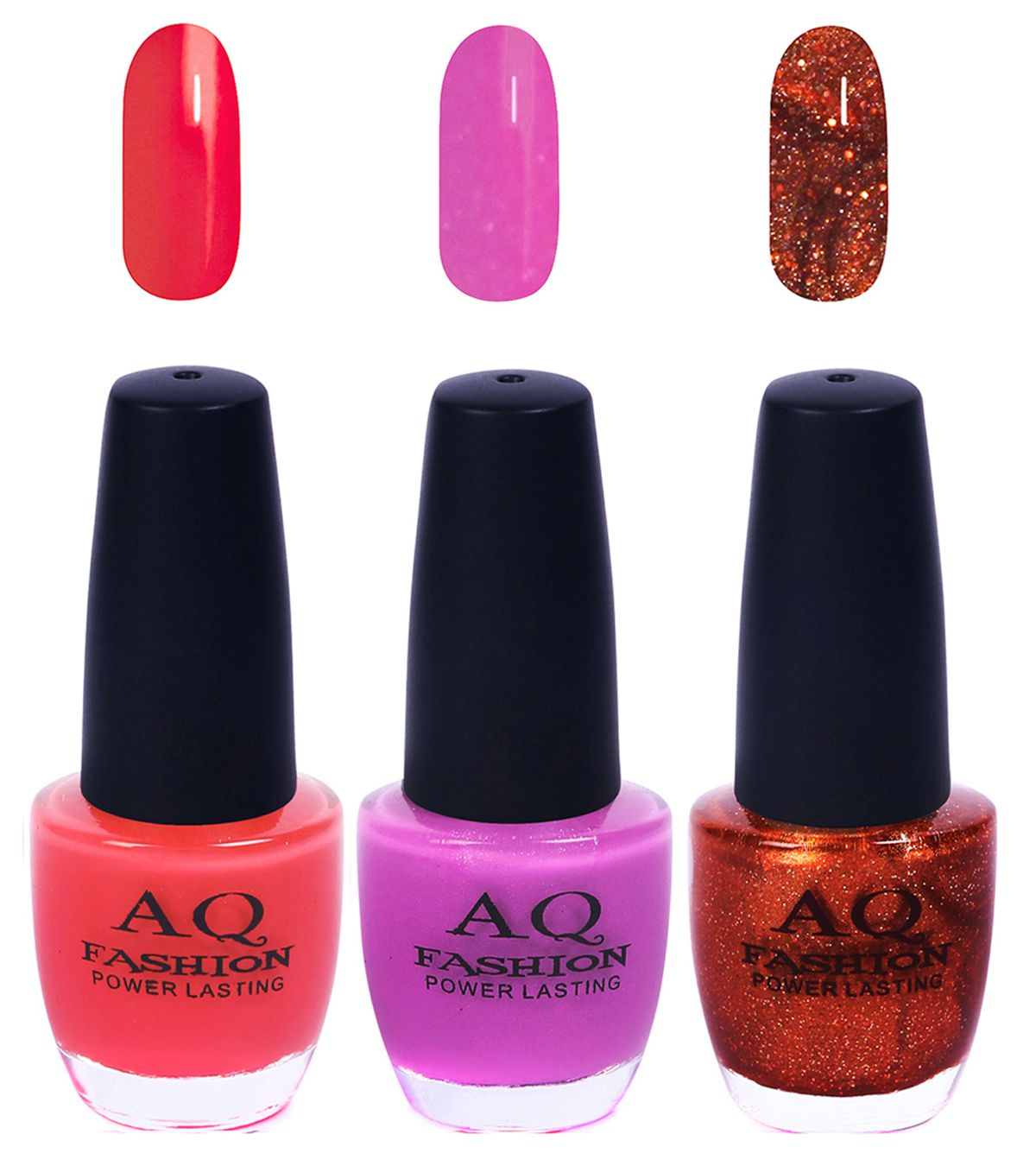 AQ Fashion Nail Polish Neon Colors Matte 36 ml