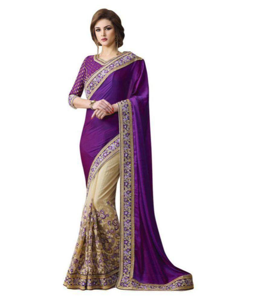 Designer Sarees Wedding Multicoloured Chiffon Saree