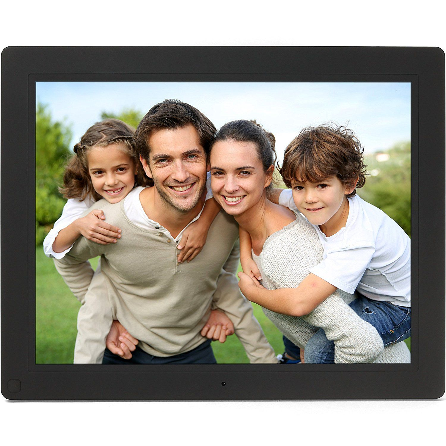 Micca NEO 15-Inch Digital Photo Frame with 8GB Storage, Motion ...