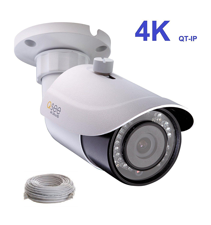 Q-See 4K (8MP) QT-IP Camera IP Ultra-HD with H 265