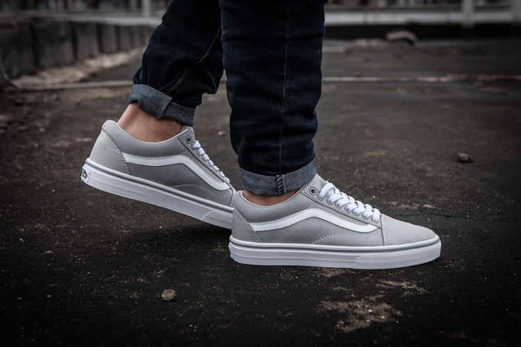 VANS Old Skool Gray Casual Shoes - Buy