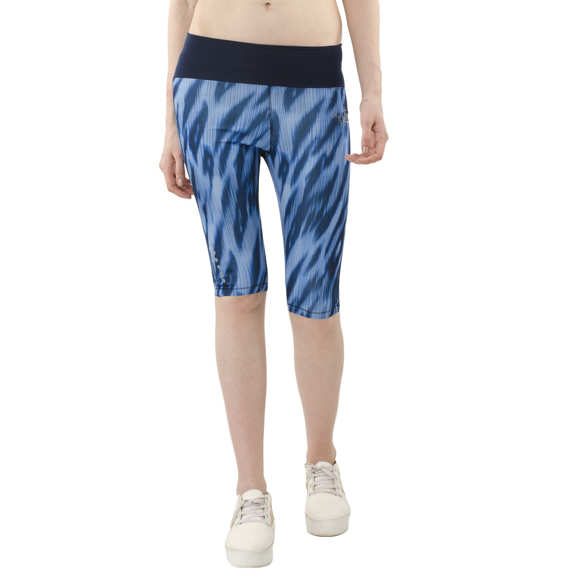 aarmy fit Polyester Blend Tights - Navy