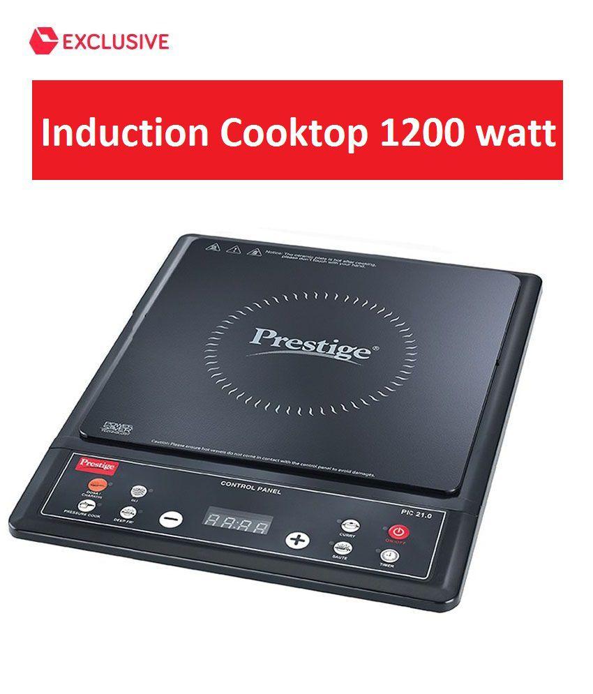 Prestige 1200 Watt PIC-21 Induction Cooktop ...