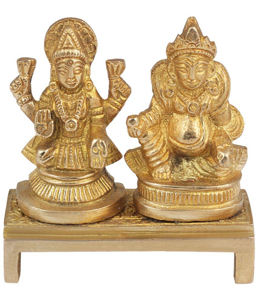 Onvay Laxmi Ganesh Brass Idol