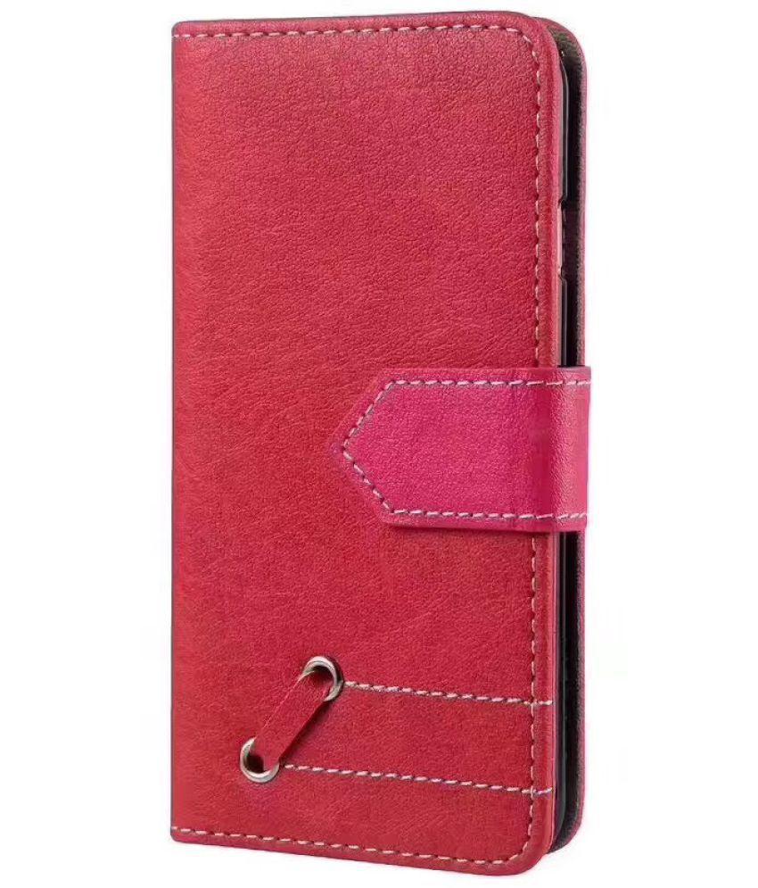 Vivo V5 Flip Cover by aldine - Red