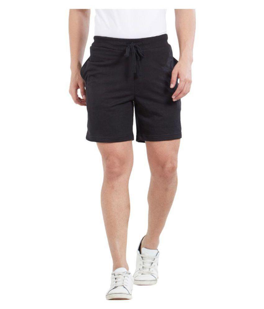 Deezeno Black Shorts