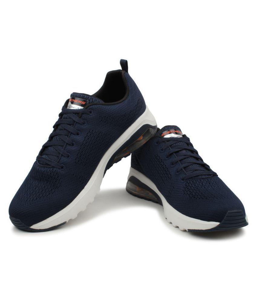 33c89cb5734048 ... Skechers Men 51492 SKECH-AIR EXTREME- NATSON Navy Running Shoes ...