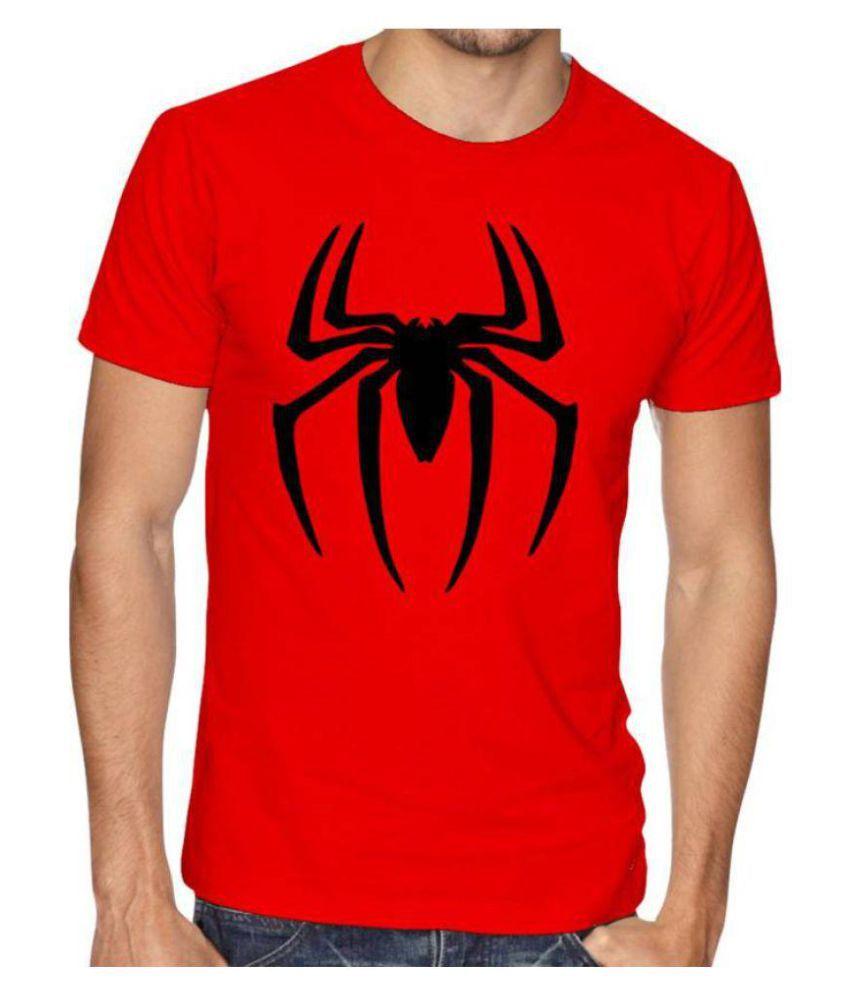 Rainbow Red Round T-Shirt