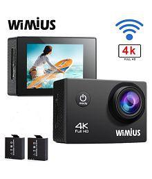 607e6a8a9 Quick View. Action Camera 4K WiFi Camera 16MP WIMIUS Q1 Ultra HD Sports  Waterproof Camera Include Waterproof Case