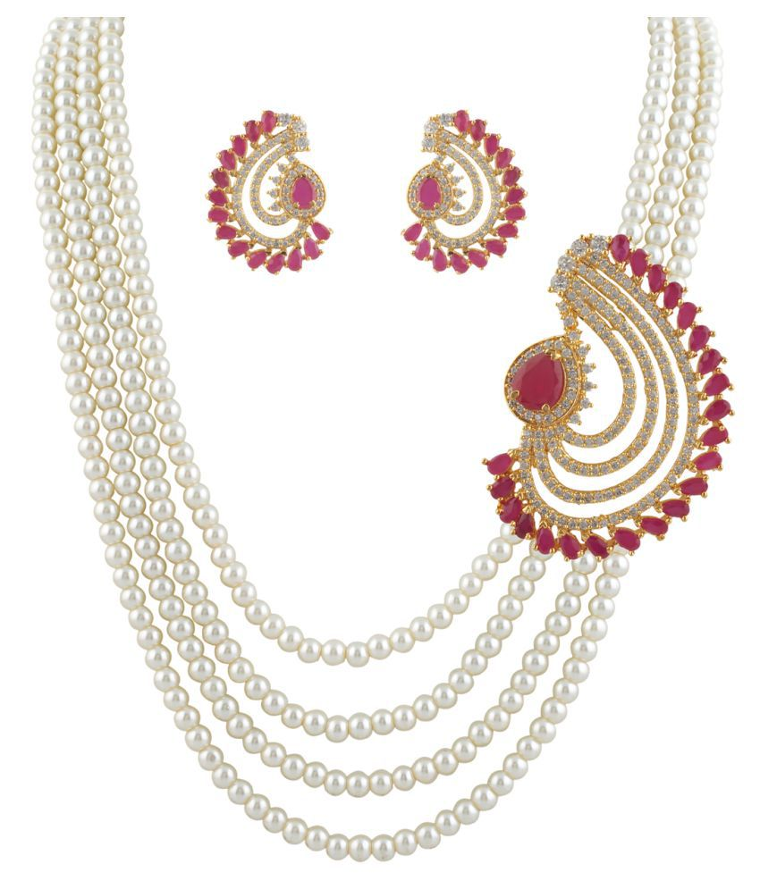 ClassiqueDesigner Beautifully Designed Pearl Set (cp1328)