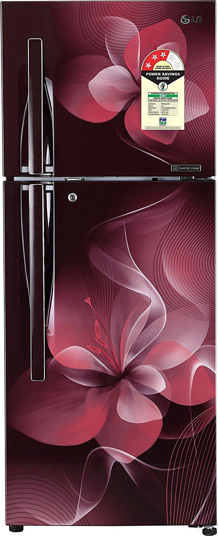 LG 260 Ltr 3 Star GL-T292RSDU Double Door Refrigerator - Purple