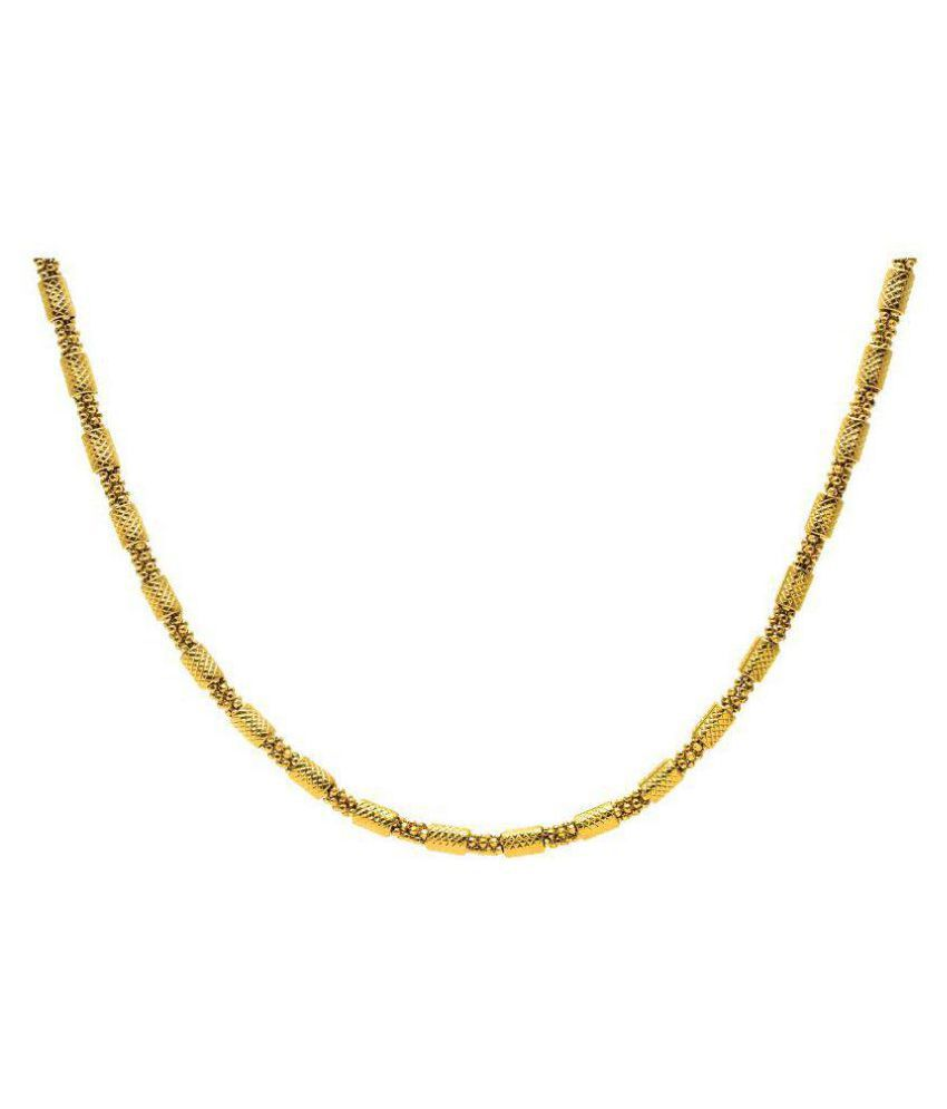 BeBold Fashion Gold Stainless Steel Plated Stylish New Spiga Chain For Men Boys