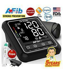 Dr. Trust (USA) Atrial Fibrillation Fully Automatic Dual Talking Digital Blood Pressure Monitor Machine