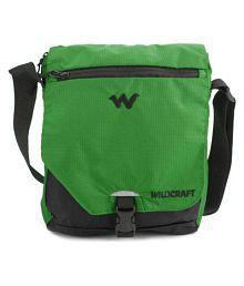 Wildcraft Green Polyester Casual Messenger Bag