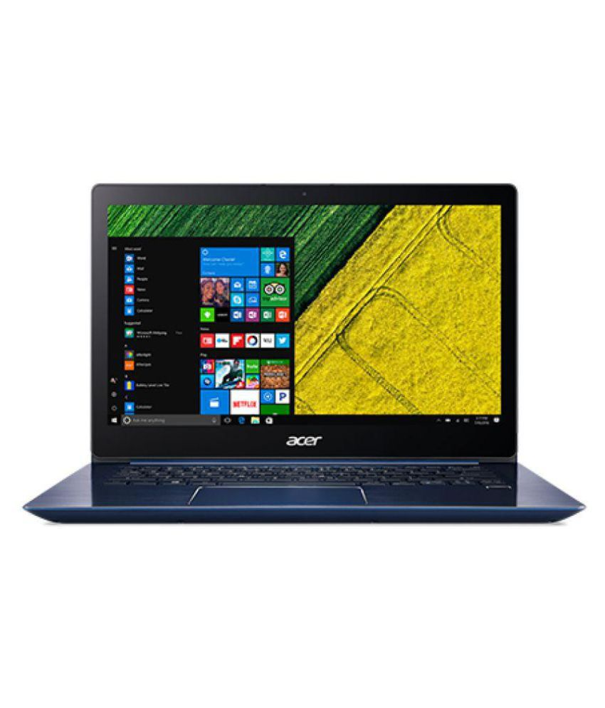 Acer 14 Swift 3 NX.GQJSI.001 Notebook Core i5 (8th Generation) 4 GB 35.56cm(14) Linux Not Applicable Blue