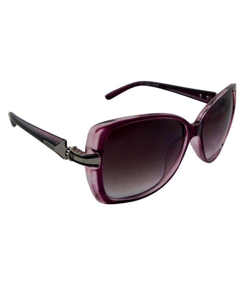 Els Purple Cat Eye Sunglasses ( 2117-PPL-PPL-S )