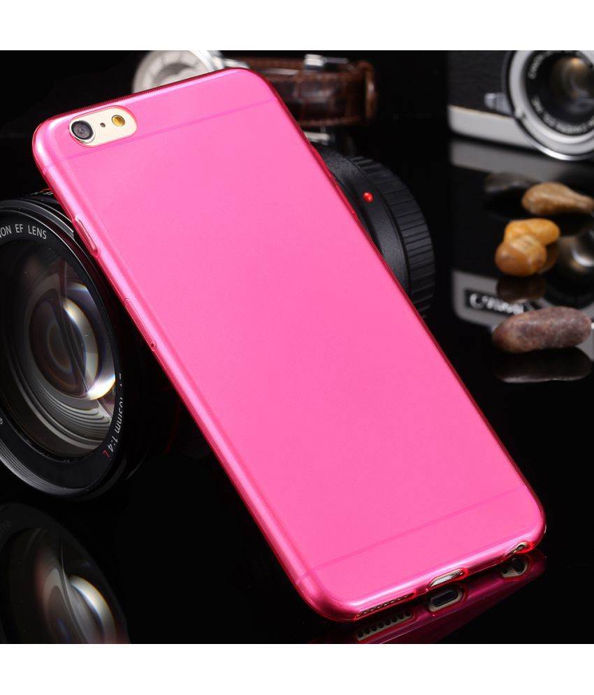 new style fe9c8 74a92 Apple iPhone 6S Plus Plain Cases Fonefinity - Pink