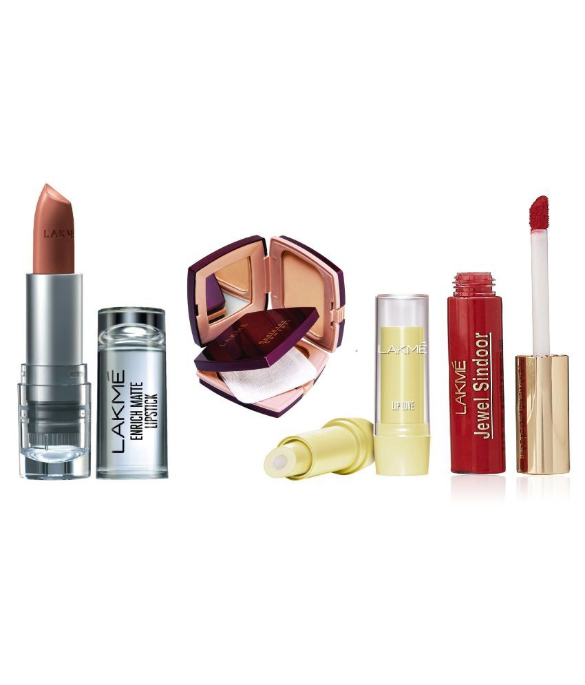 Lakme Daily Need Brown Enrich Matte Combo (Shade-BM10) Makeup Kit gm: Buy Lakme Daily Need Brown Enrich Matte Combo (Shade-BM10) Makeup Kit gm at Best ...