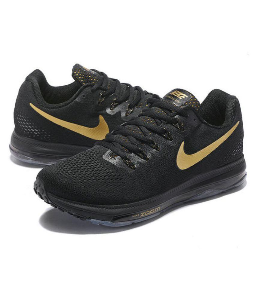 a20e968f73375 Nike zoom all out flyknit Black Running Shoes - Buy Nike zoom all out  flyknit Black Running Shoes Online at Best Prices in India on Snapdeal