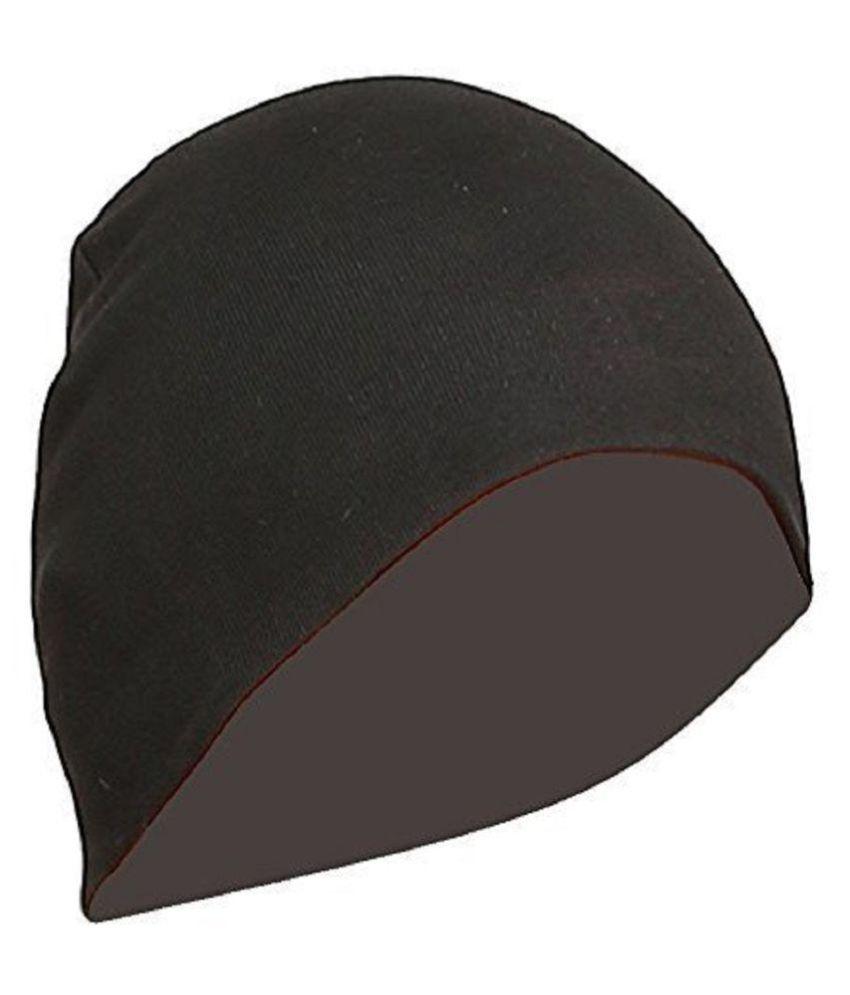 THE BLAZZE Black Cotton Caps