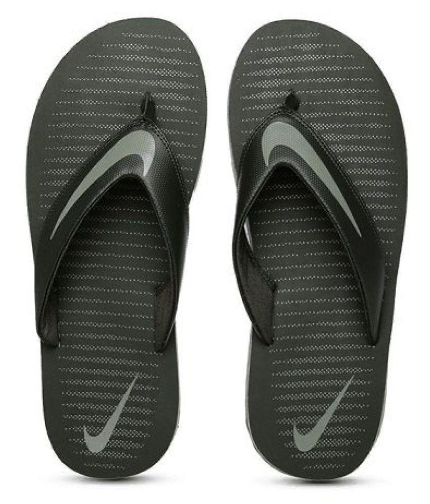 b81877ccb36b Nike Chroma Thong 5 Black Thong Flip Flop Price in India- Buy Nike Chroma  Thong 5 Black Thong Flip Flop Online at Snapdeal