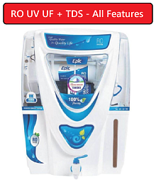 Aquagrand Deal Epic17 Ltr RO UV UF + TDS + Mineral Cartridge