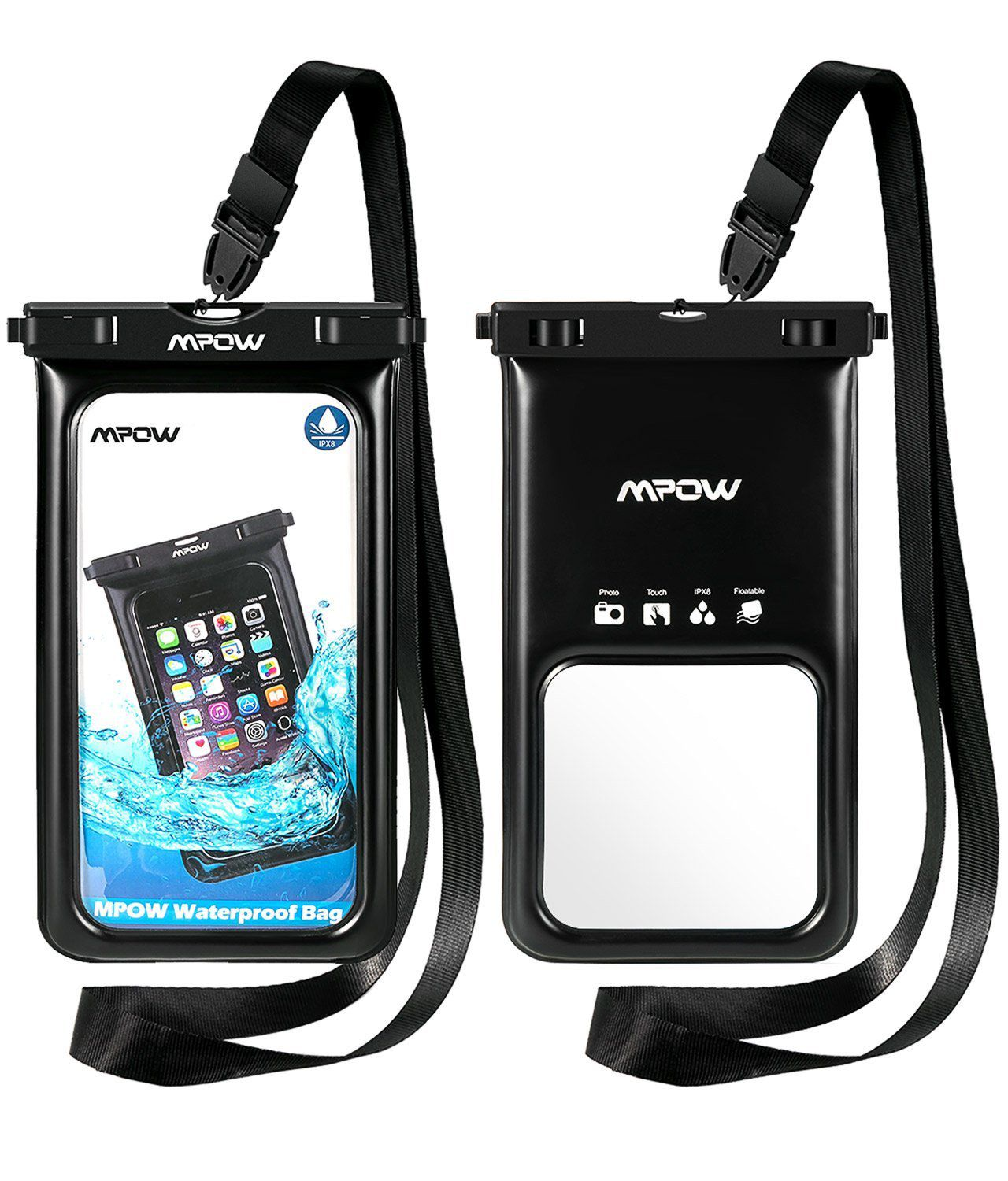 sale retailer 7cd33 a6f30 Mpow [ upgraded ] Floating Waterproof Case, IPX8 Waterproof Phone ...