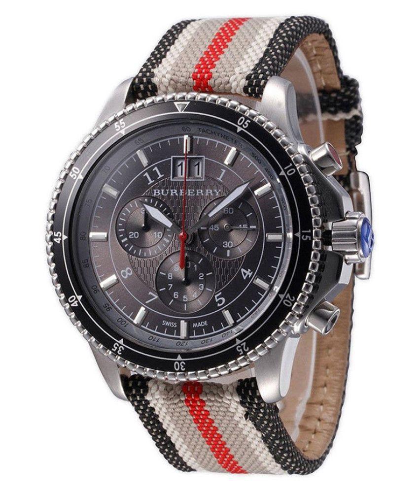 984c3d6b615f Burberry Endurance Chronograph Black Dial Men's Watch BU7601 - Buy Burberry  Endurance Chronograph Black Dial Men's Watch BU7601 Online at Best Prices  in ...