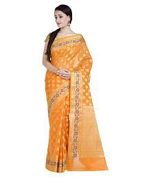 85cbb7bc91 Gold Saree: Buy Gold Saree Online in India at low prices - Snapdeal