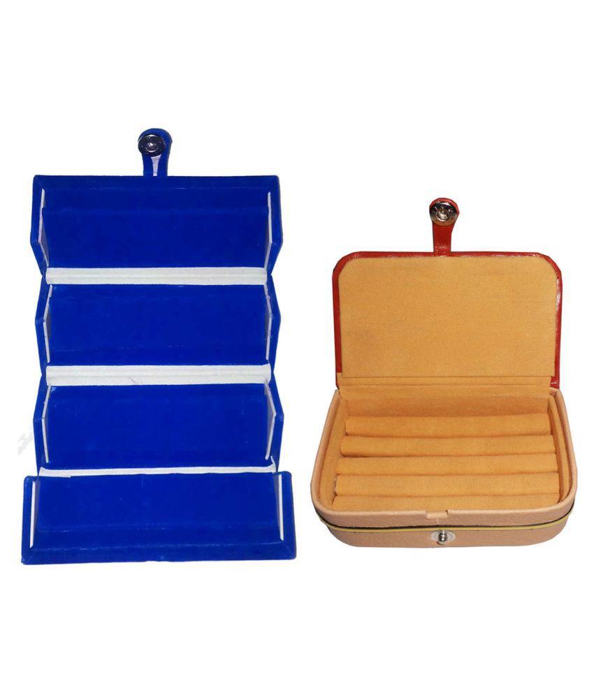 Combo earring folder and ring Box jewelry box