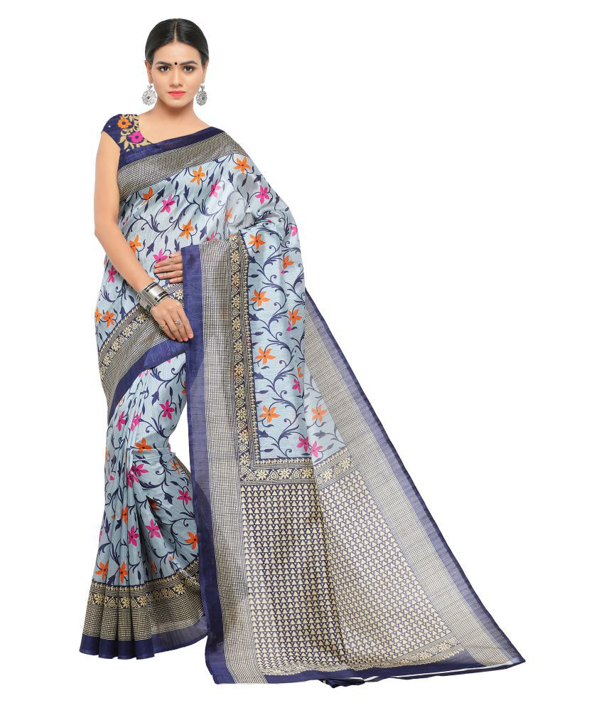 Sunaina Multicoloured Bhagalpuri Silk Saree