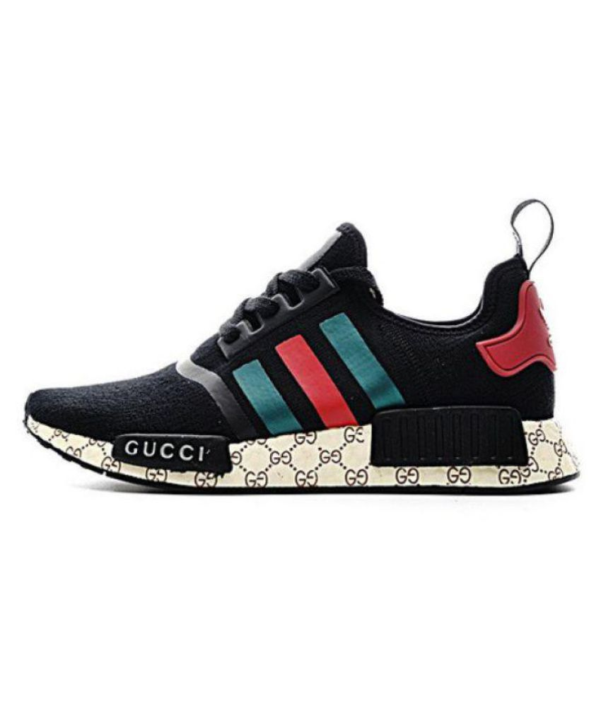 53b16386af340e Adidas NMD GUCCI Black Running Shoes - Buy Adidas NMD GUCCI Black Running Shoes  Online at Best Prices in India on Snapdeal